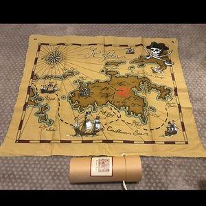 Pottery Barn Kids - Wall Canvas Treasure Map